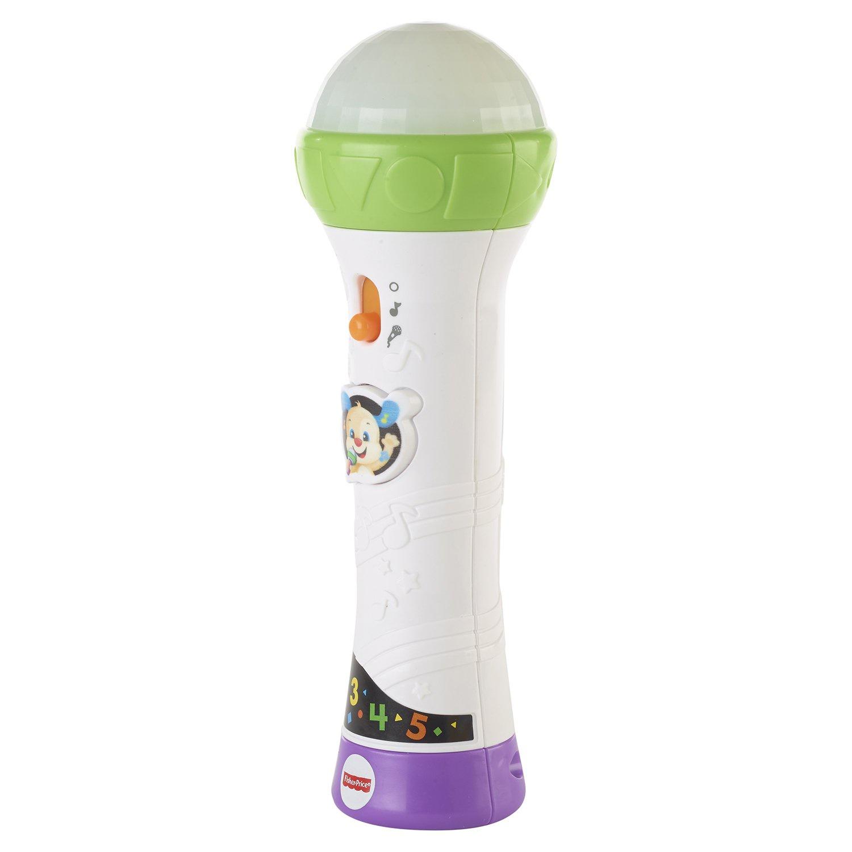 Музыкальная игрушка FISHER PRICE INFANT TOYS Игрушка FISHER-PRICE Микрофон Ученого Щенка, FTF66