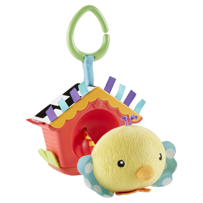 Развивающая игрушка FISHER PRICE NEWBORN Игрушка Птичка, DFP95