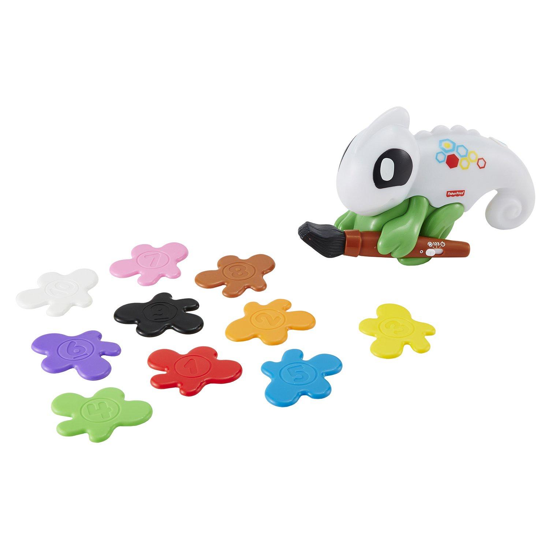 Fisher-Price Обучающий хамелеон развивающие игрушки fisher price умный хамелеон сканер