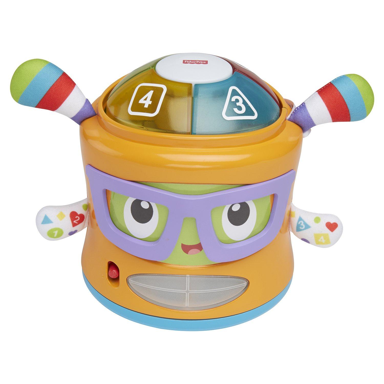 Развивающая игрушка FISHER PRICE INFANT TOYS Игрушка FISHER-PRICE Фрэнки Веселые ритмы, FTG08