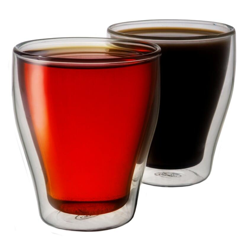 Набор стаканов с двойными стенками, 260 мл, 2 шт