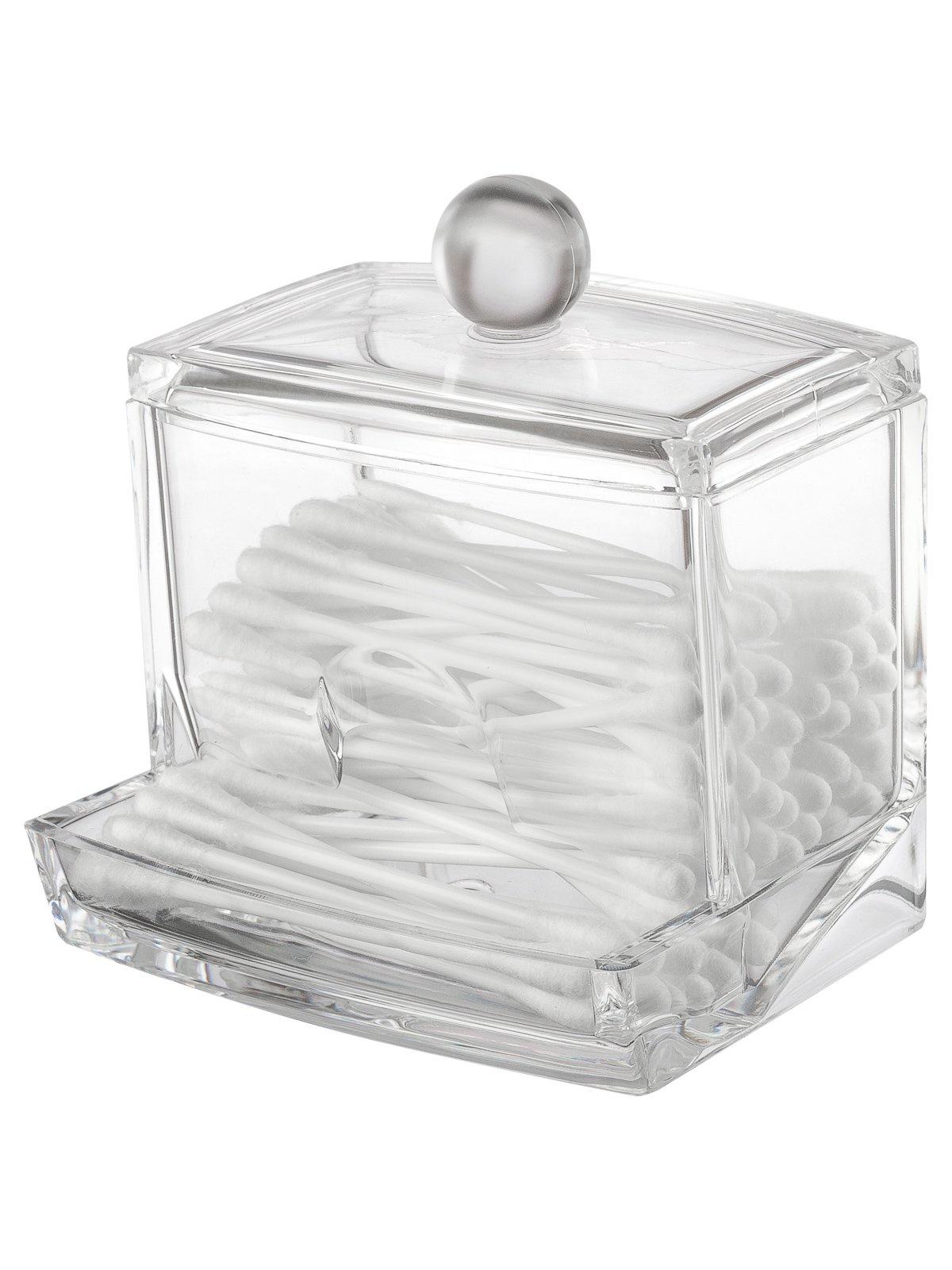 Органайзер для мелочей и косметики HomeMaster Akril 2134, SHM111, прозрачный
