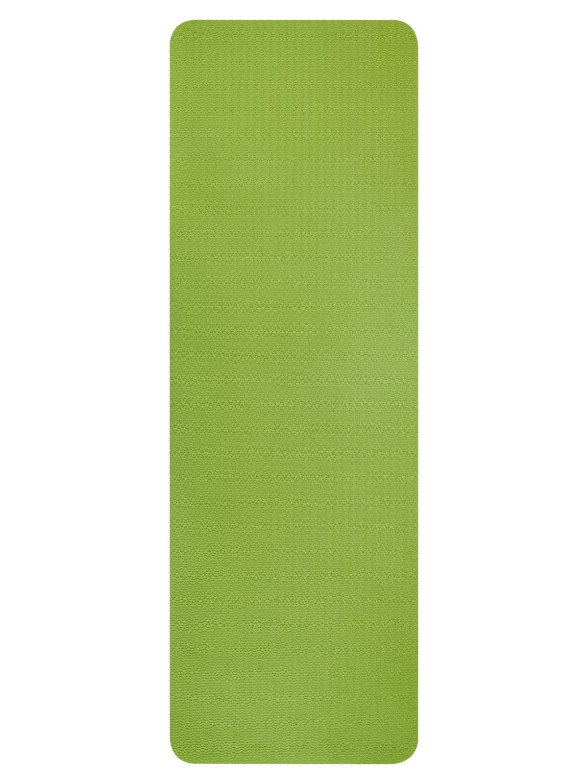 Коврик для йоги и фитнеса HomeMaster SHM140, зеленыйSHM140Коврик для йоги со специальным антискользящим покрытием с двух сторон. Выполнен из гипоаллергенного материала. Подходит для занятий йогой, стретчингом, фитнесом и растяжкой. С этим ковриком вы почувствуете комфорт на занятиях и оцените качество. Уход за ним прост, достаточно протереть раствором мыльной воды и хорошо промыть. Размер: 173х61х1см.
