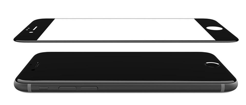 Защитное стекло Remax Tempered Glass Suit, 4630042523562, черный mediagadget стекло защитное tempered glass iphone 6 plus прозрачное