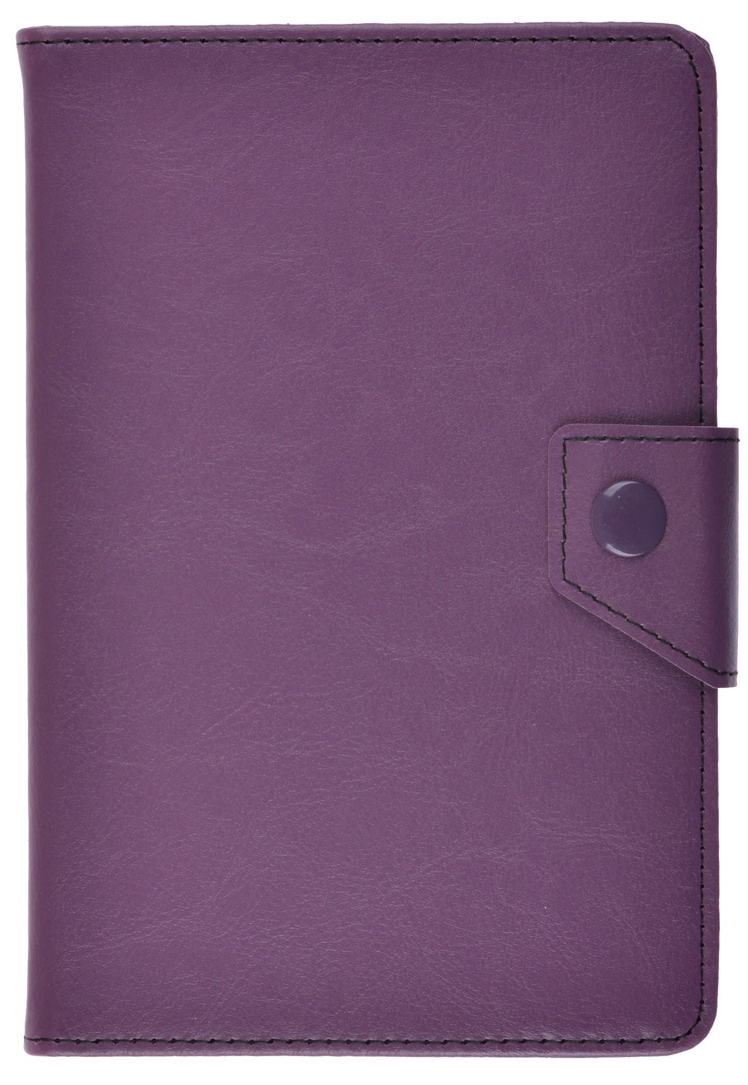 Чехол для планшета ProShield Standard slim clips 8, 4660041409611, фиолетовый чехол универсальный proshield standard clips8 2000000139876 золотистый
