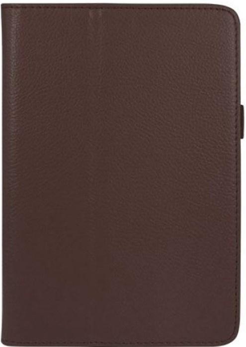 Чехол для планшета skinBOX Standard, 4660041406481, коричневый skinbox обложка skinbox standard для планшета asus vivotab smart me400c выполнена из качественной экокожи