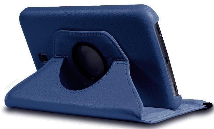 Чехол для планшета skinBOX Standard, 4660041406535, синий skinbox обложка skinbox standard для планшета asus vivotab smart me400c выполнена из качественной экокожи
