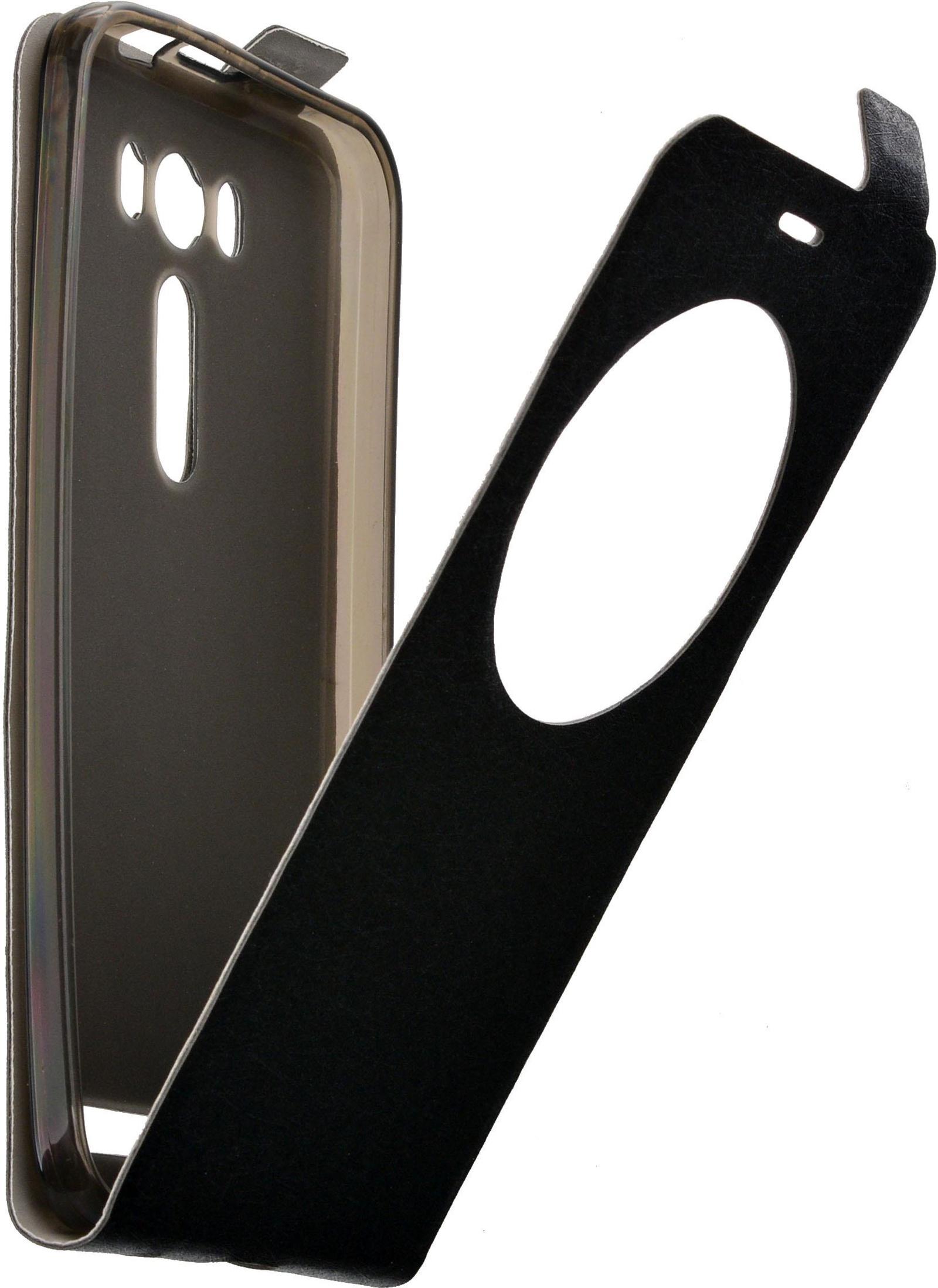 Чехол для сотового телефона skinBOX Flip slim AW, 4660041407112, черный roar aw чехол для asus zenfone 4 a400cg white