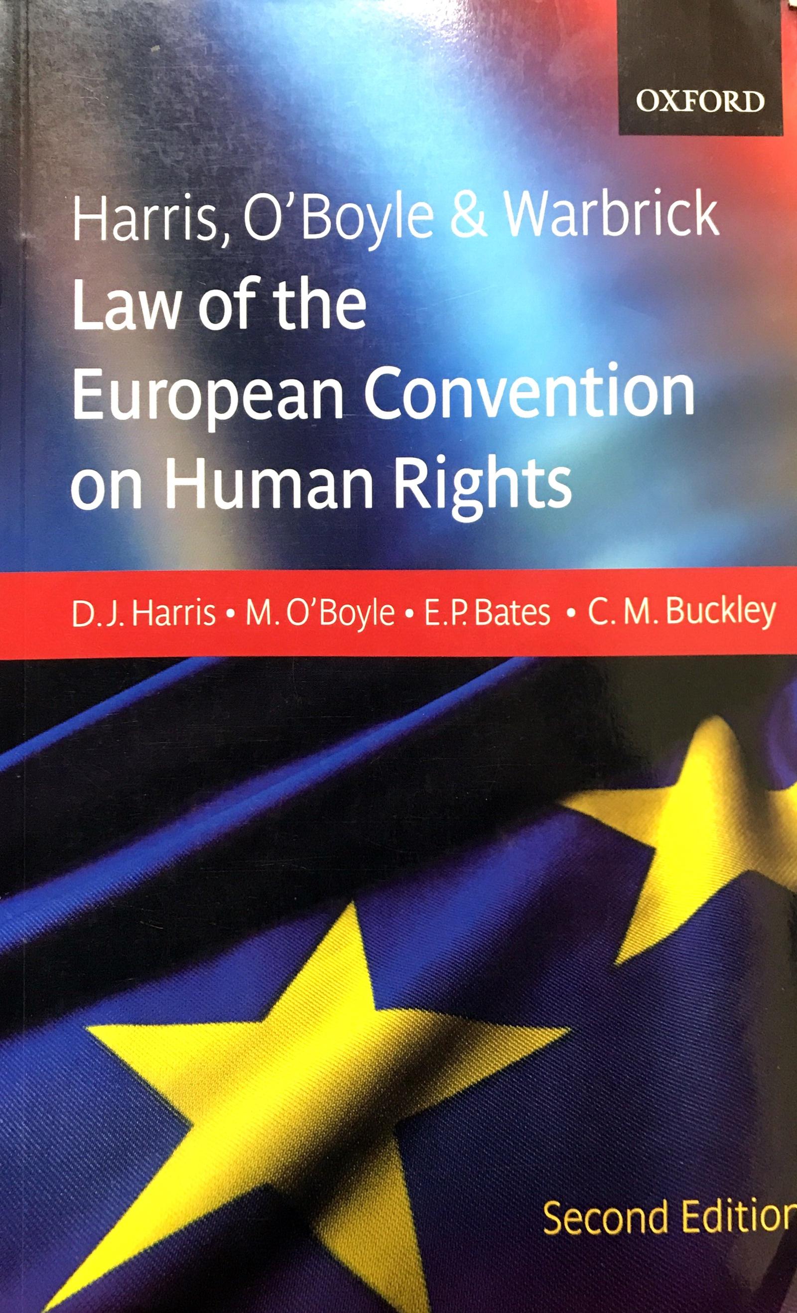 Harris, D.J. Юридические основы Европейской Конвенции по Правам Человека