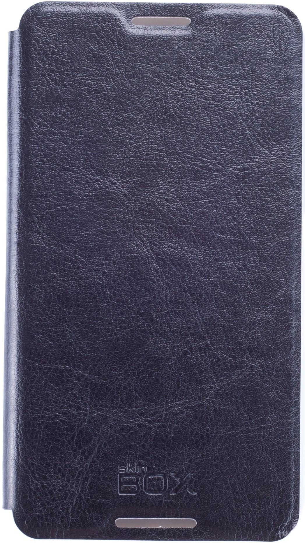 Чехол для сотового телефона skinBOX Lux, 4660041406771, черный