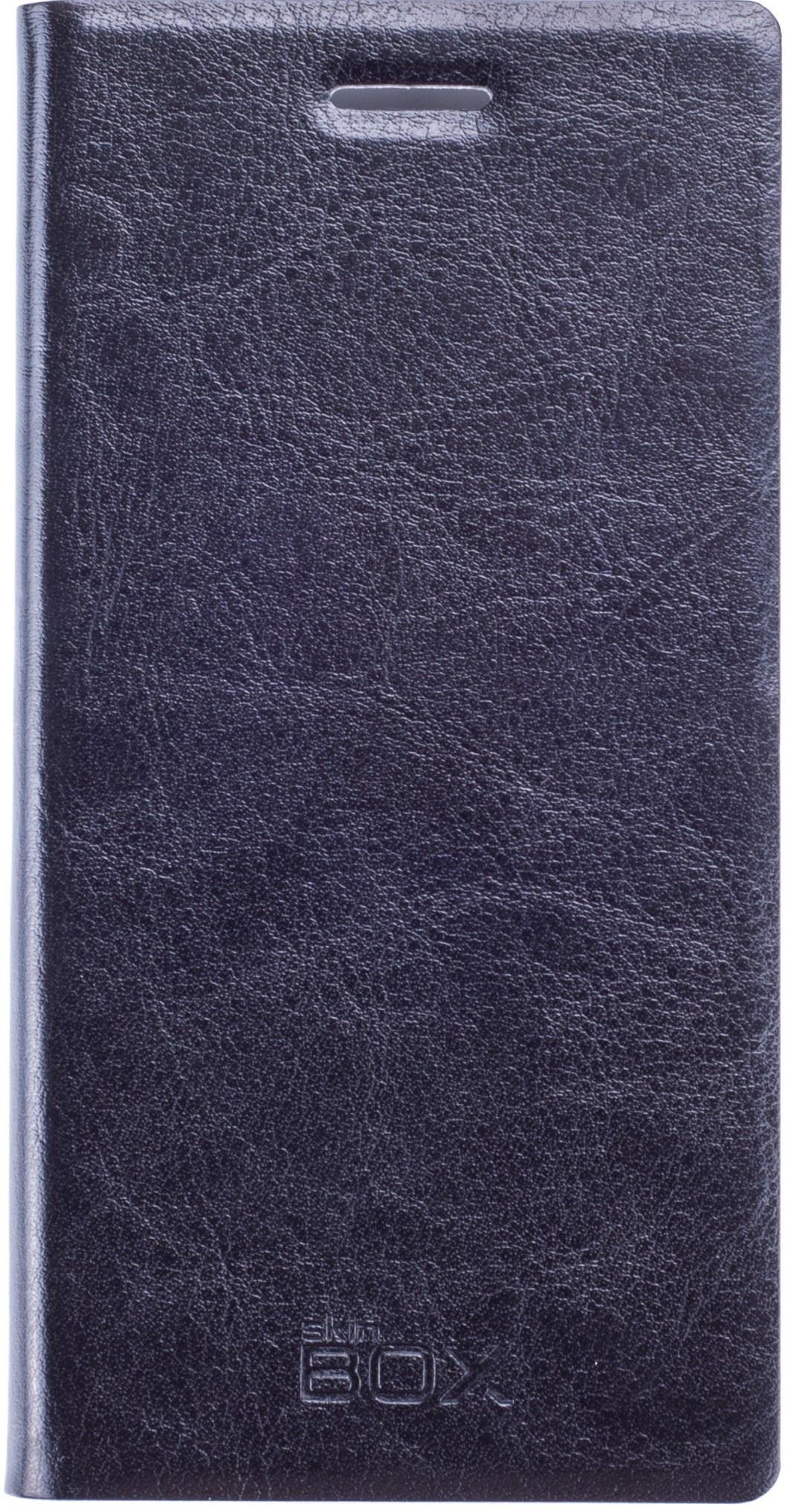 Чехол для сотового телефона skinBOX Lux, 4660041406788, черный все цены