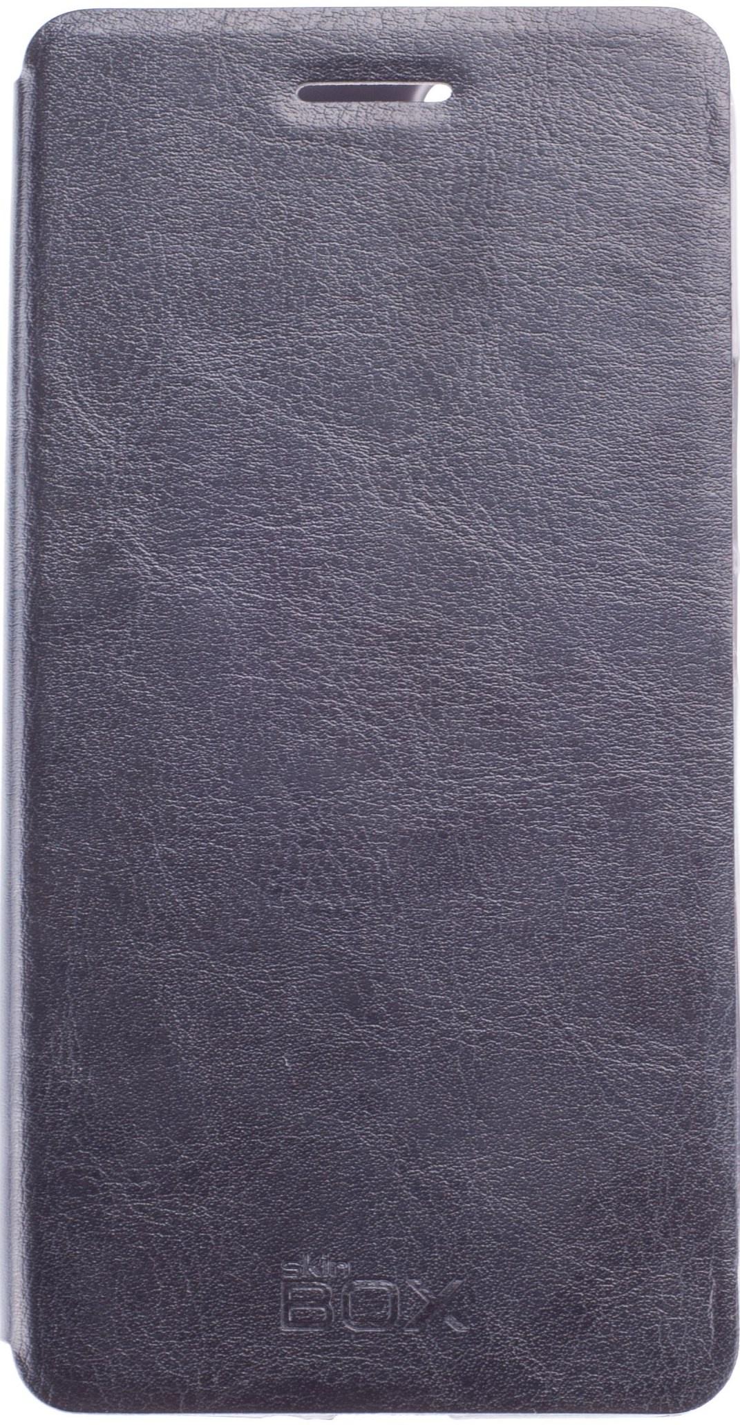 Чехол для сотового телефона skinBOX Lux, 4660041406863, черный