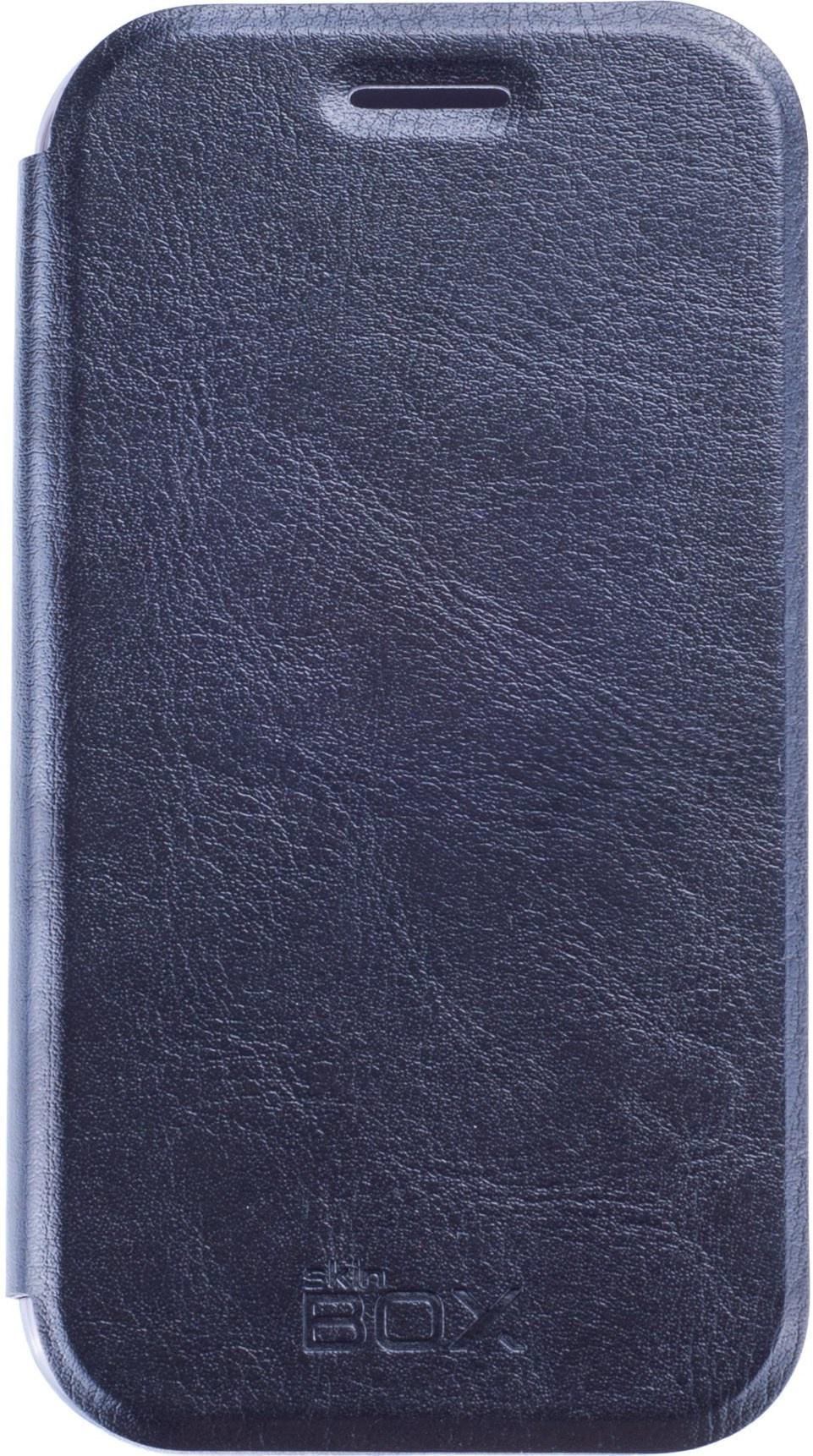 Чехол для сотового телефона skinBOX Lux, 4660041406764, черный все цены