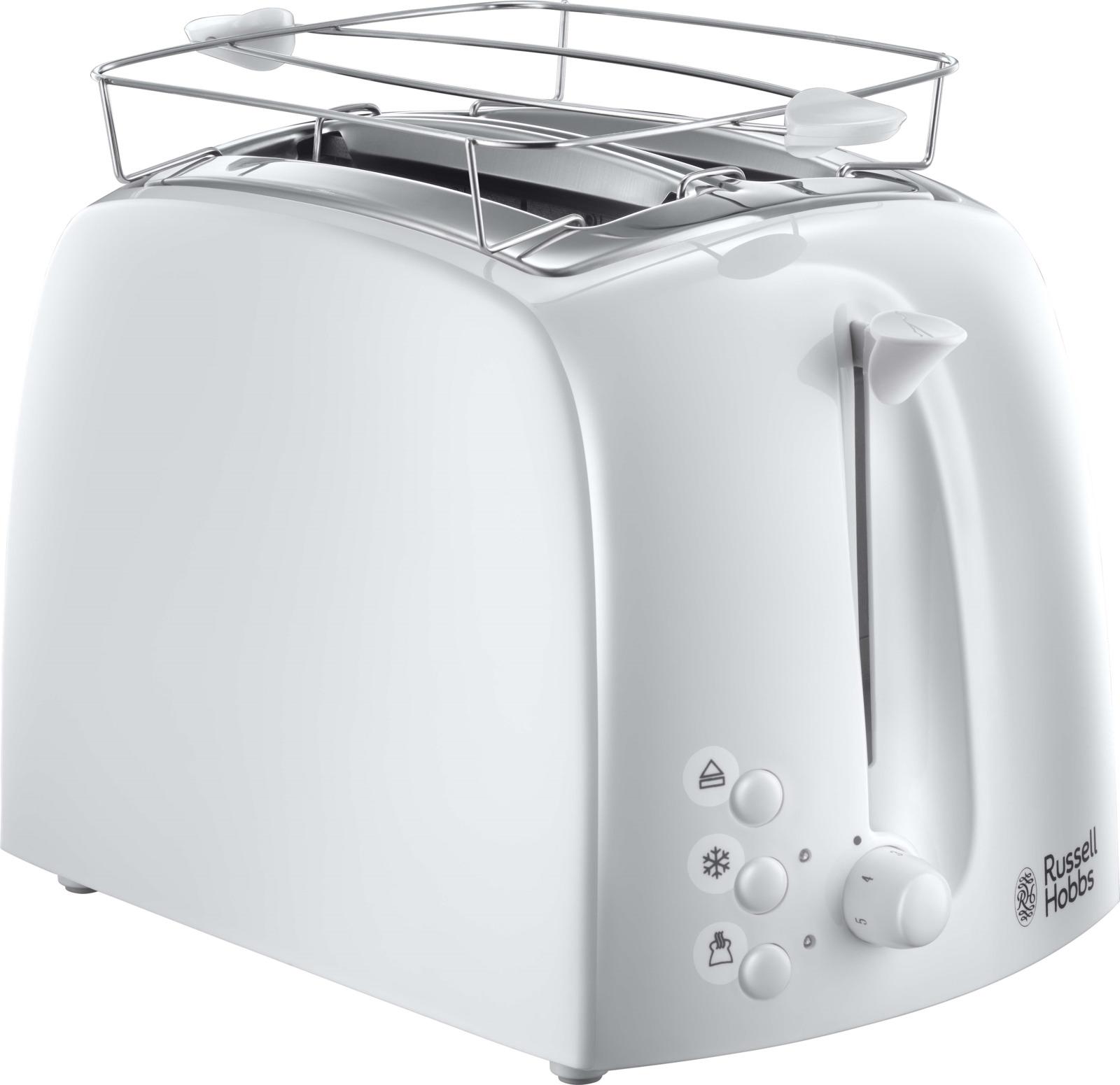 Russell Hobbs 21640-56, White тостер электрический