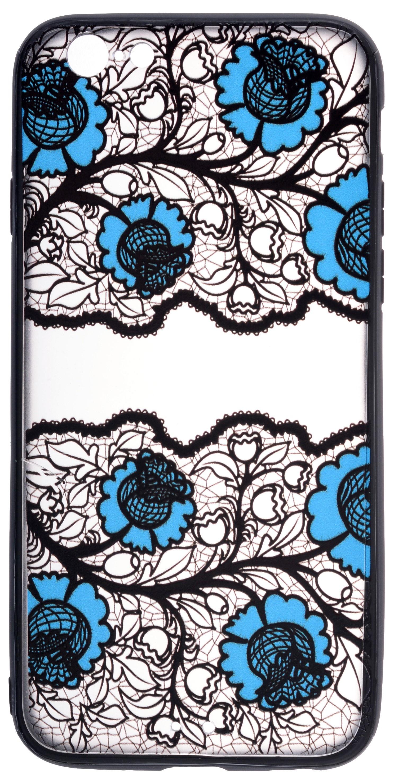 Чехол для сотового телефона skinBOX pictures color, 4660041409079, синий