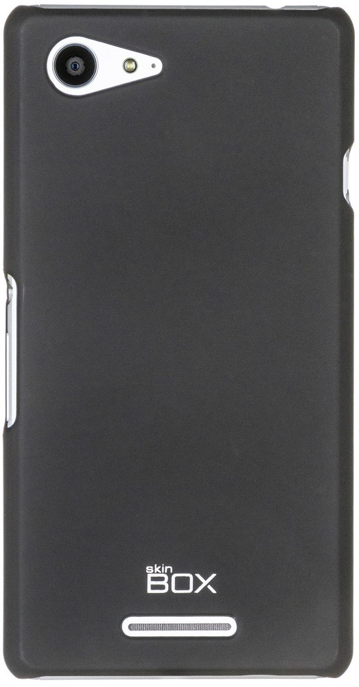 Чехол для сотового телефона skinBOX 4People, 4660041406733, черный цена 2017