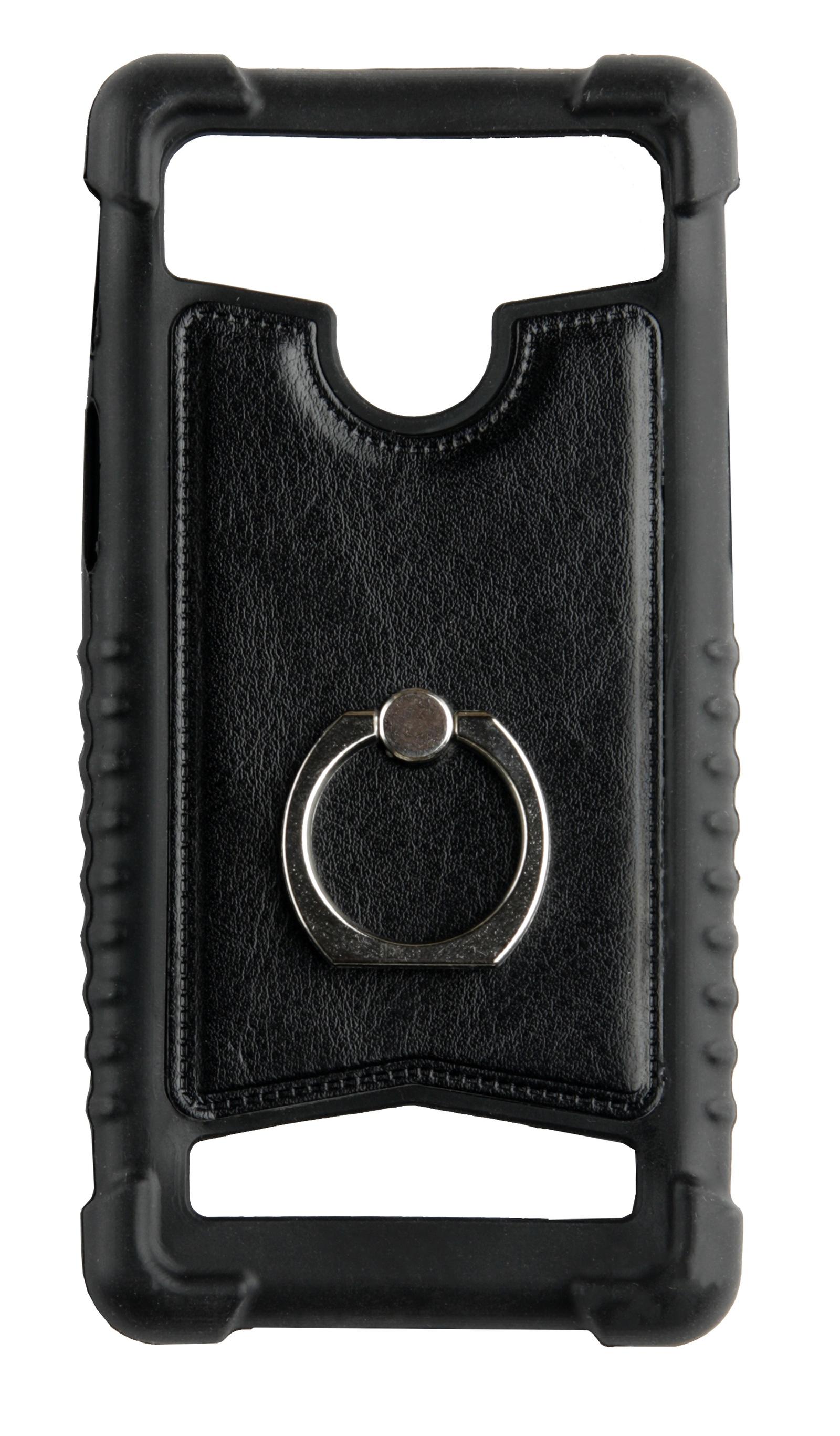 Чехол для сотового телефона skinBOX Universal 5-5.2 ring, 4660041408898, черный чехол activ 3 5 5 5 inch armband universal green 73678