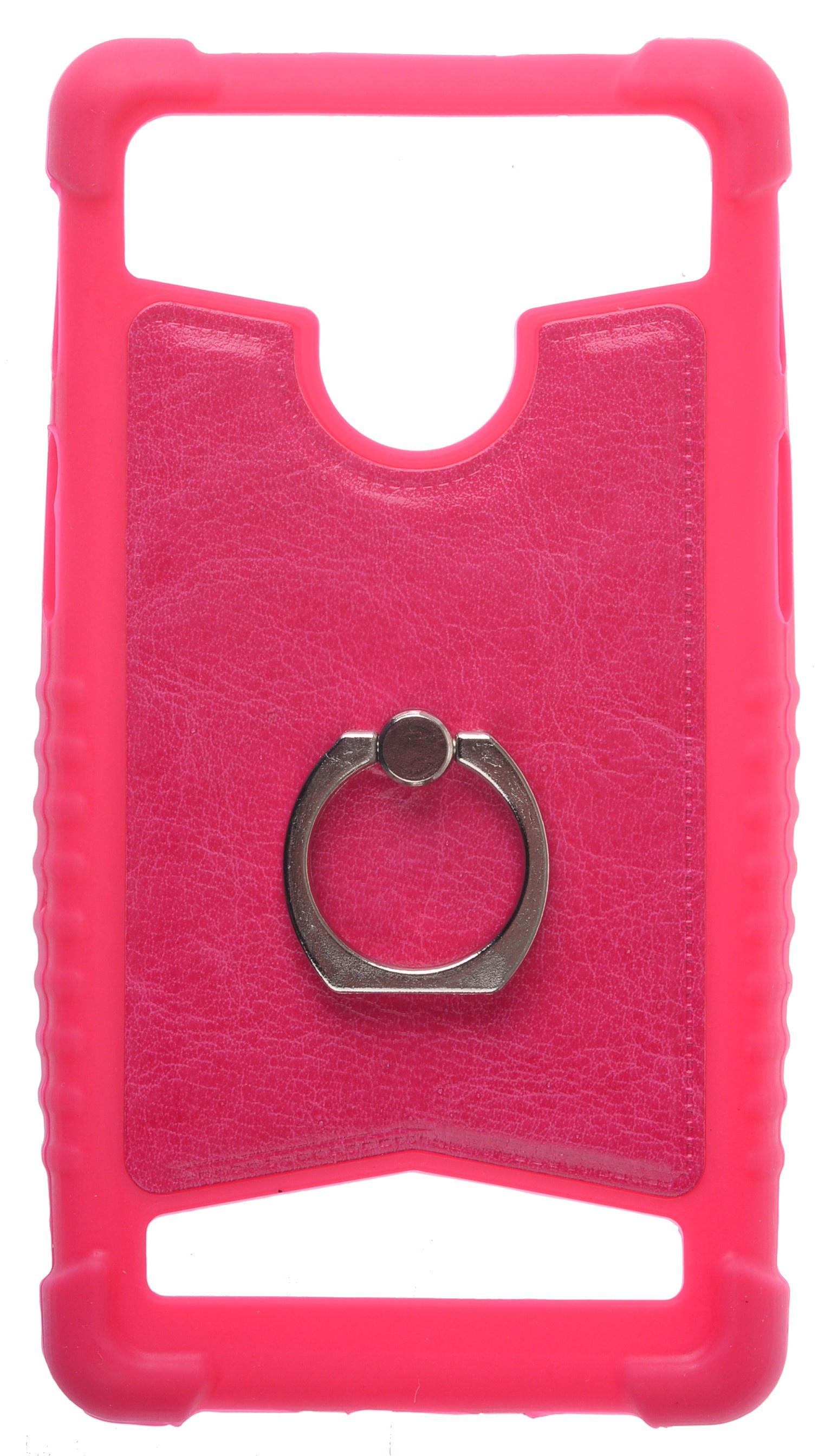 Чехол для сотового телефона skinBOX Universal 5-5.2 ring, 4660041408881, красный чехол activ 3 5 5 5 inch armband universal green 73678
