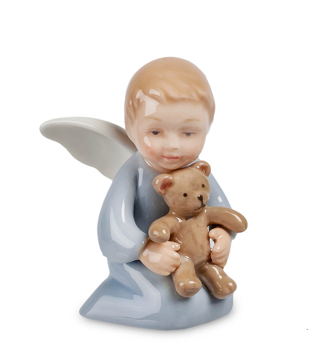 лучшая цена Фигурка декоративная Pavone Ангелочек с медвежонком CMS-11/41, 107311