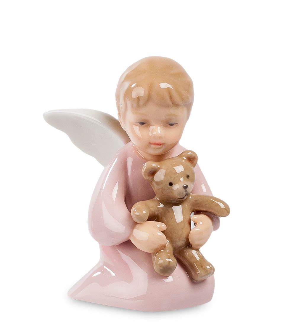 лучшая цена Фигурка декоративная Pavone Ангелочек с медвежонком CMS-11/42, 107312