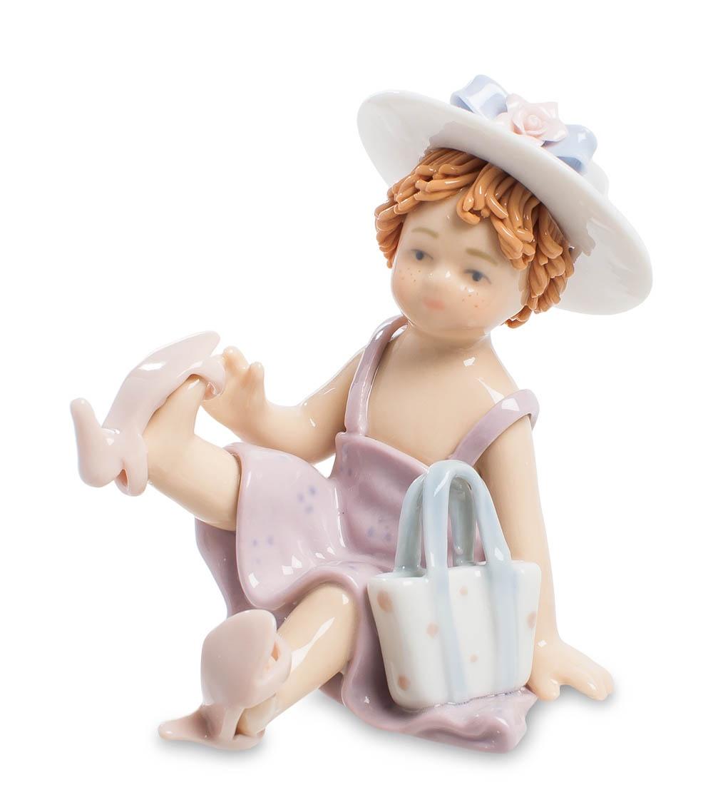 Фигурка декоративная Pavone Маленькая модница CMS-12/11, 101274 цена и фото
