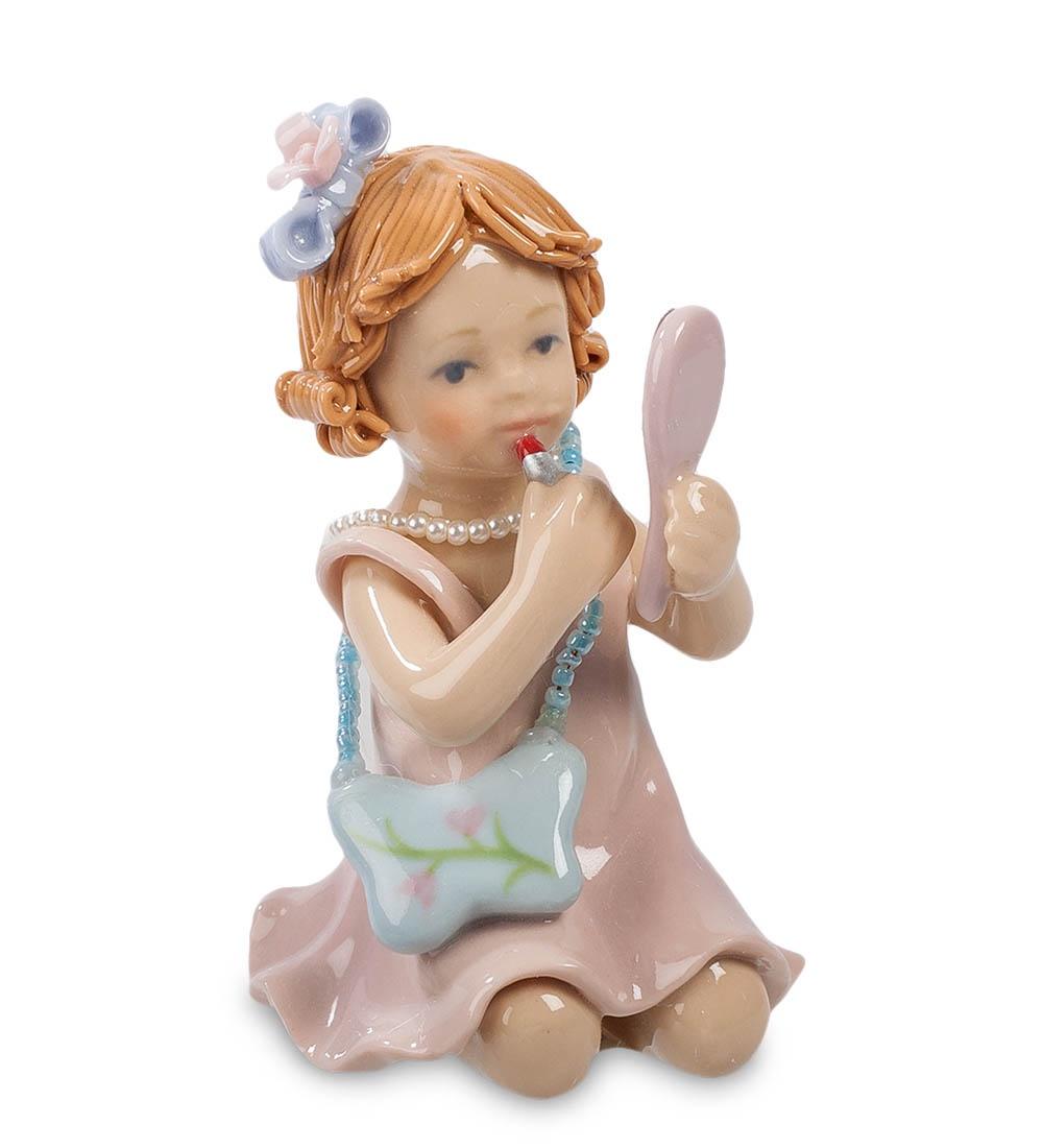 Фигурка декоративная Pavone Маленькая модница CMS-12/12, 101275 цена и фото