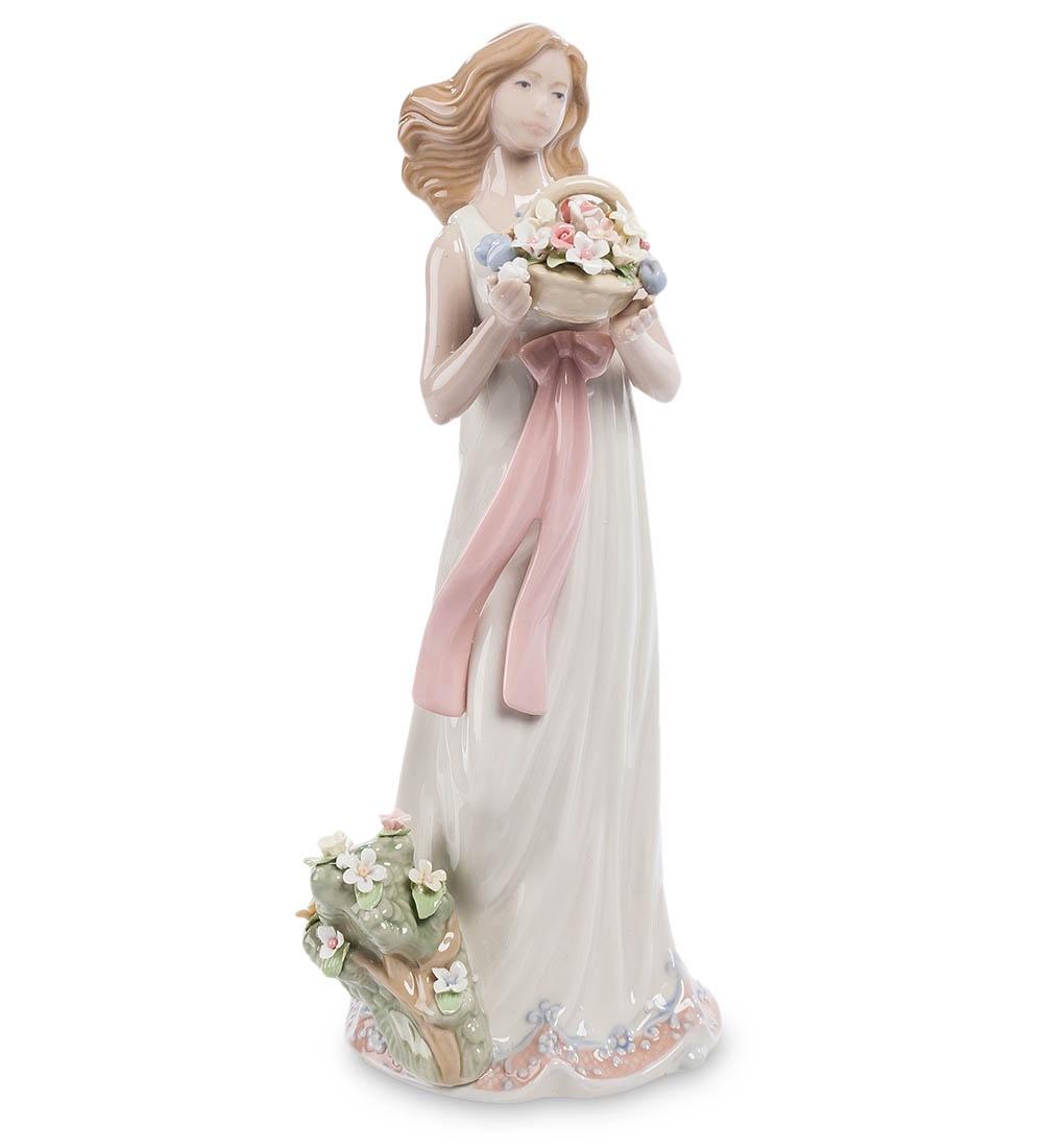 Фигурка декоративная Pavone Девушка с цветами CMS-20/12, 103418