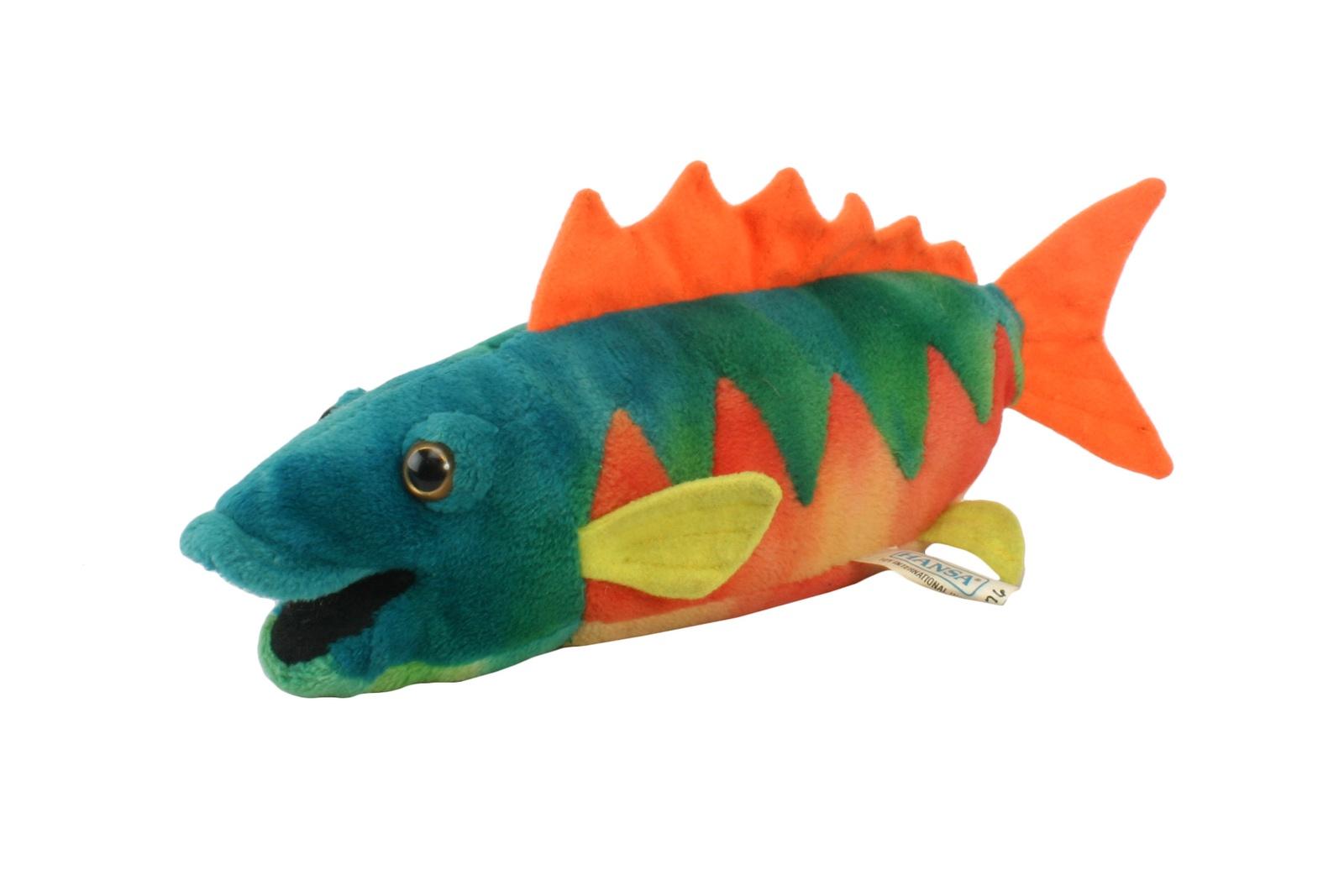 Мягкая игрушка HANSA 2976 Рыба, 28 см оранжевый