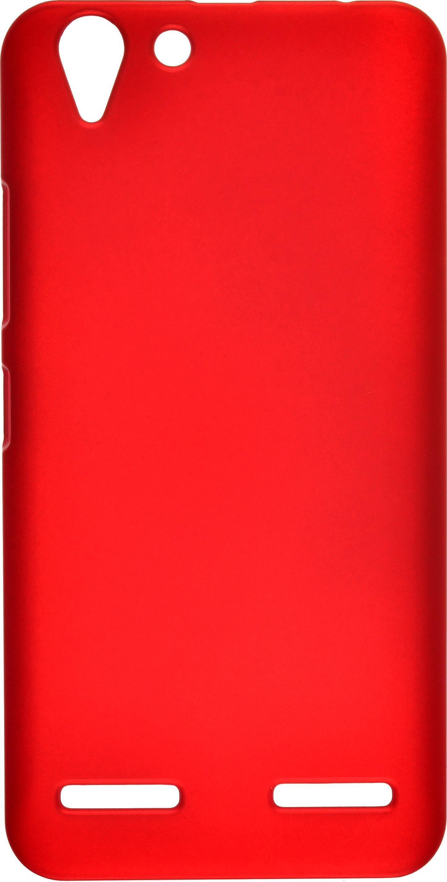 Чехол для сотового телефона skinBOX 4People, 4660041407471, красный чехол для lenovo a2010 skinbox 4people shield case черный
