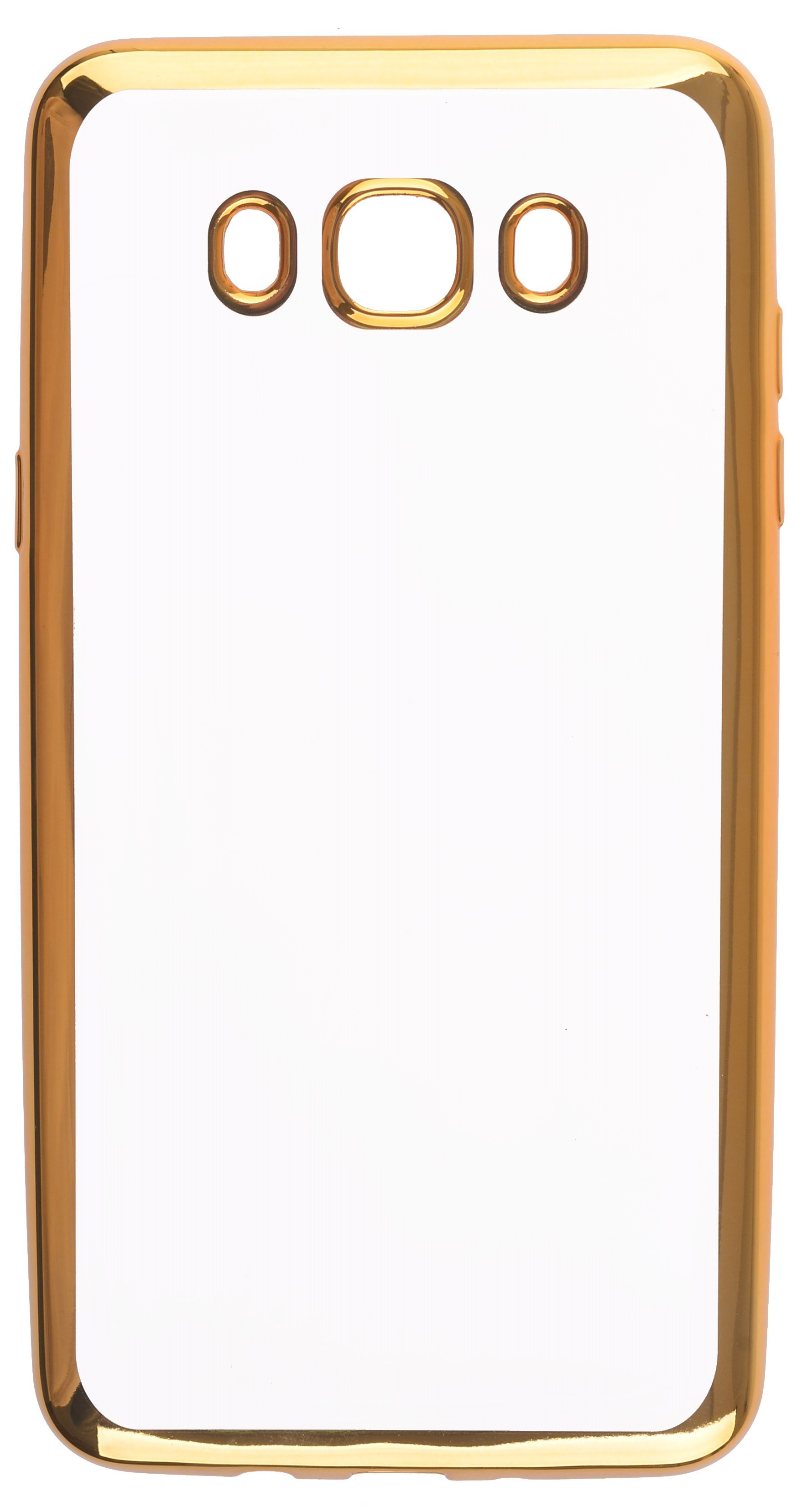 Чехол для сотового телефона skinBOX Silicone chrome border, 4660041407945, золотой skinbox 4people slim silicone чехол накладка для xiaomi redmi 4a transparent