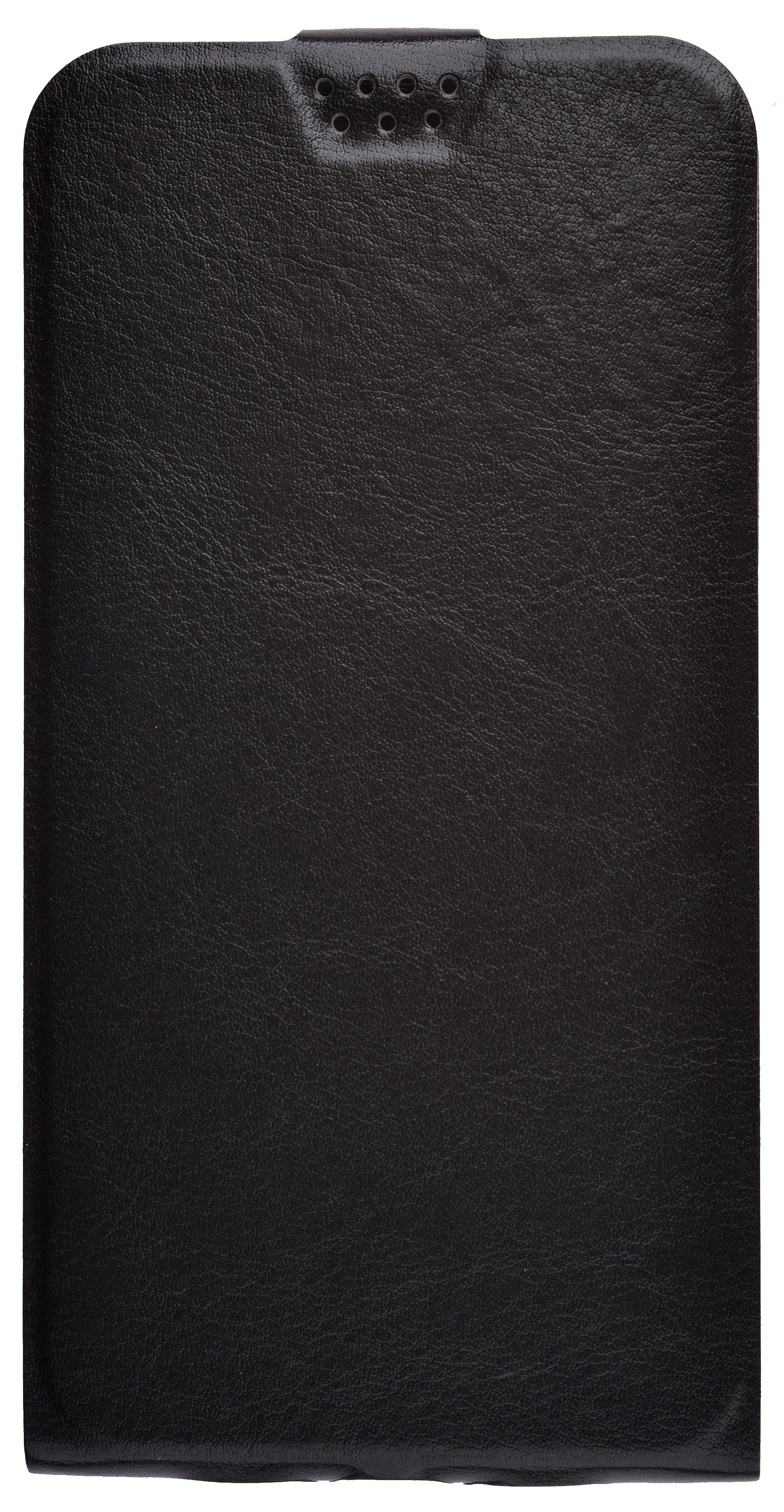 Чехол для сотового телефона skinBOX Flip slim, 4660041408201, черный flip pu leather protective stand case cover for zte blade l2