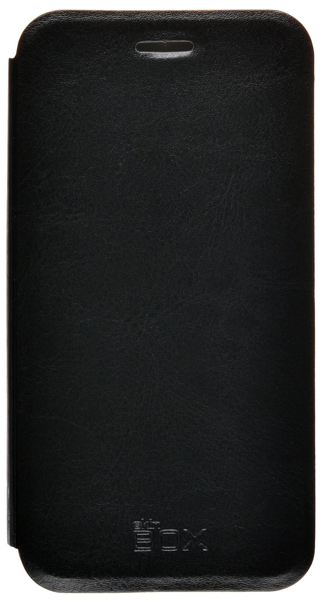 Чехол для сотового телефона skinBOX Lux, 4660041407556, черный