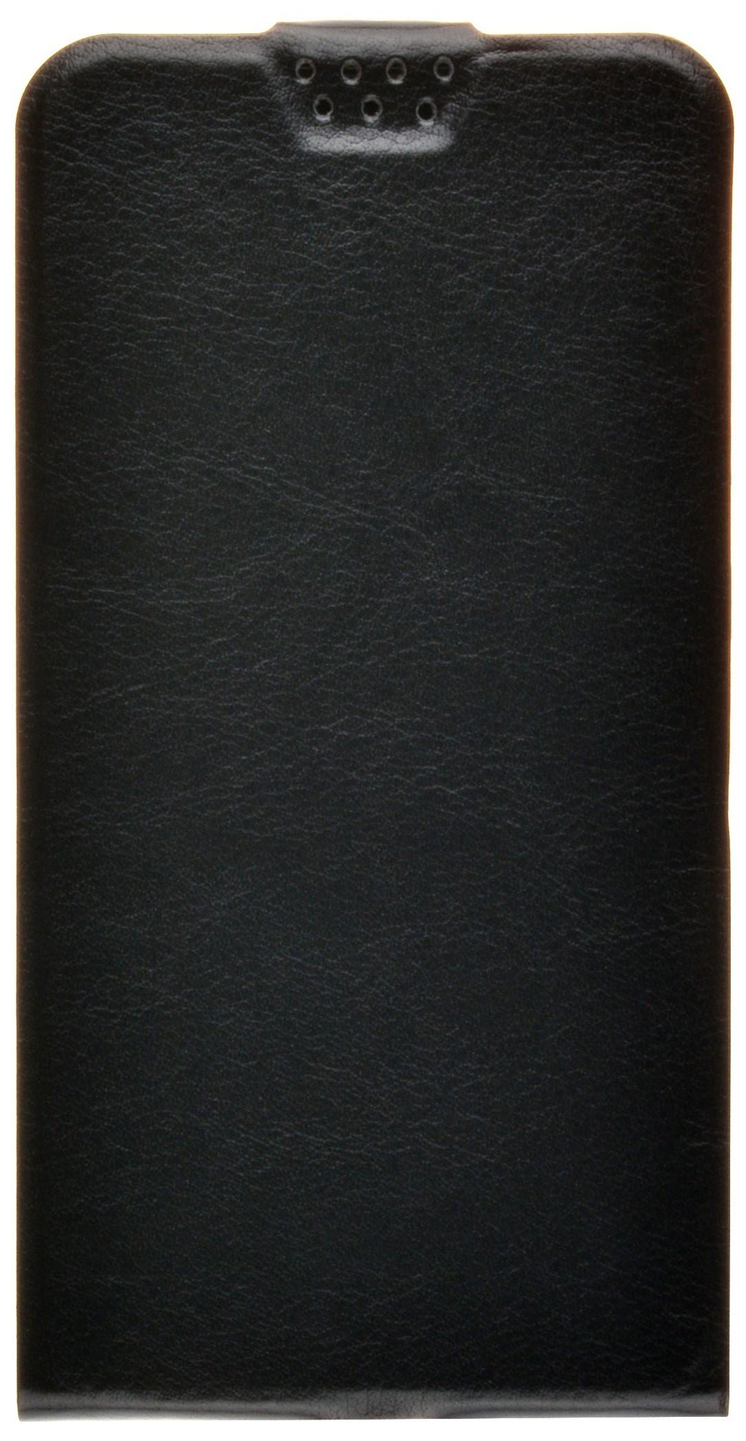 Чехол для сотового телефона skinBOX Flip slim, 4660041407662, черный flip pu leather protective stand case cover for zte blade l2