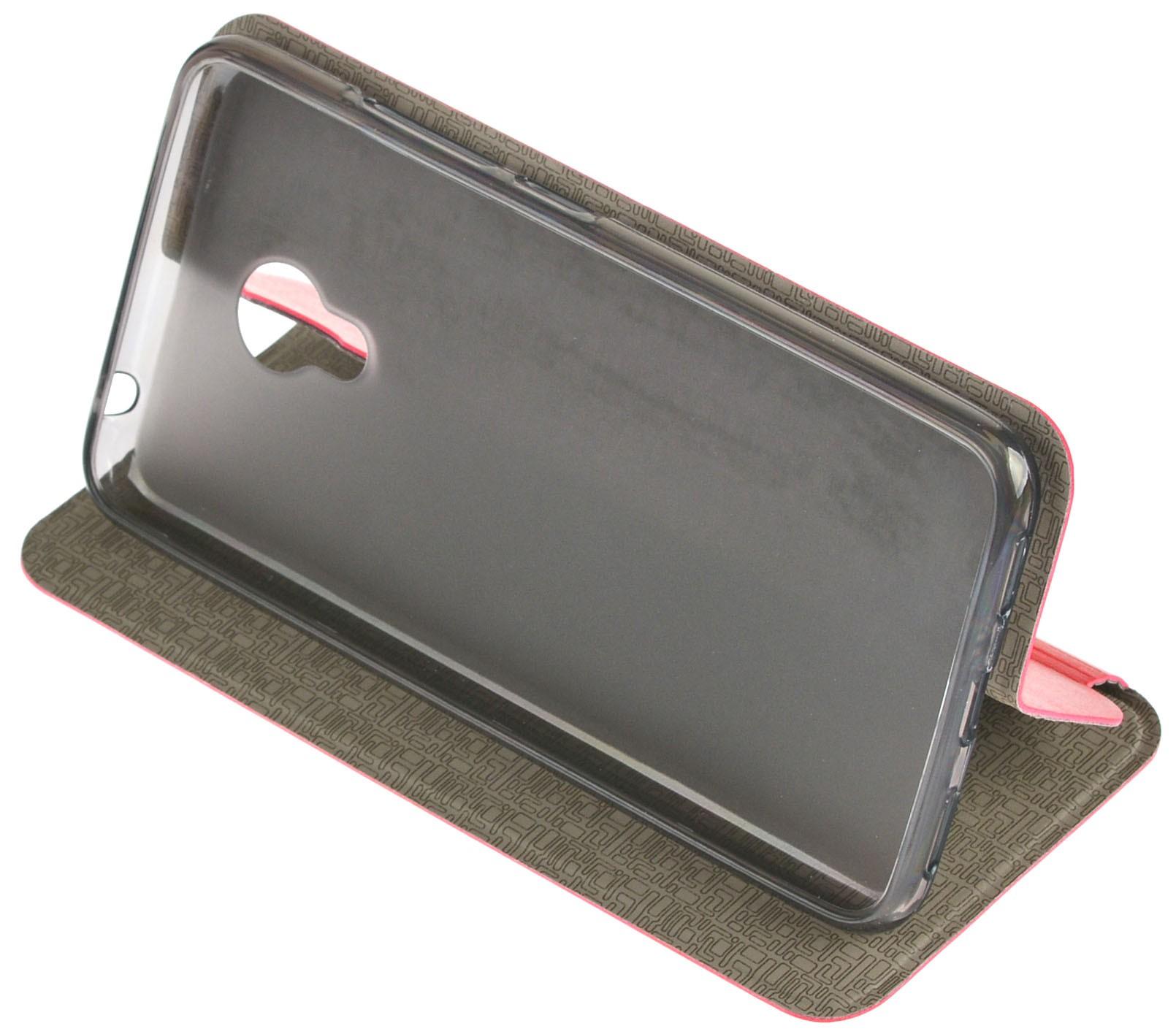 Чехол для сотового телефона skinBOX Lux, 4660041407594, красный чехол для meizu m3 note gecko flip красный