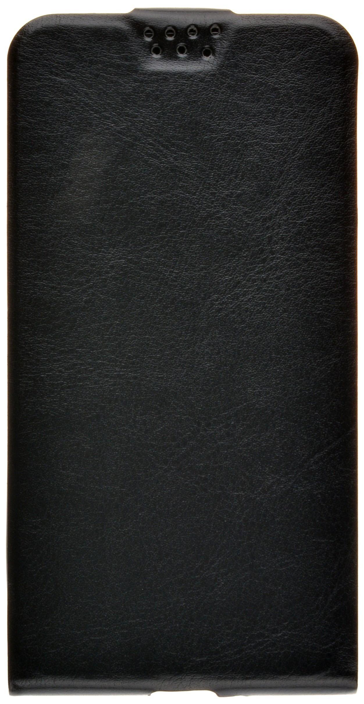 Чехол для сотового телефона skinBOX Flip slim, 4660041407631, черный flip pu leather protective stand case cover for zte blade l2
