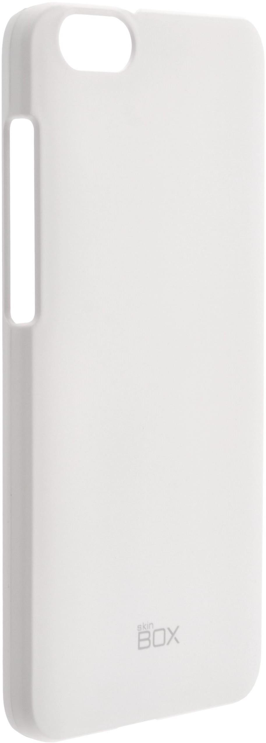 Чехол для сотового телефона skinBOX 4People, 4660041406832, белый стоимость