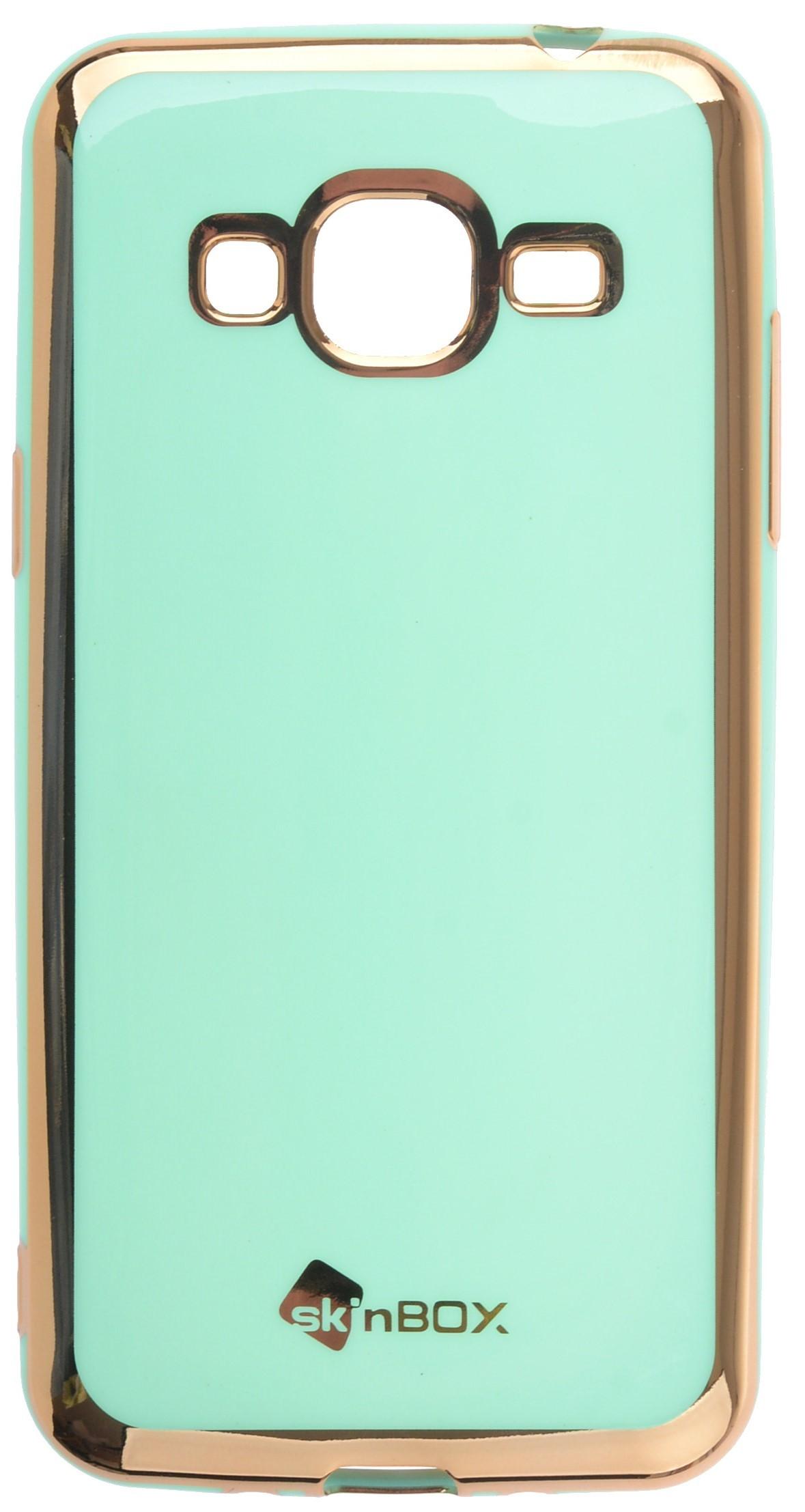 Чехол для сотового телефона skinBOX slim silicone color, 4660041409086, бирюзовый