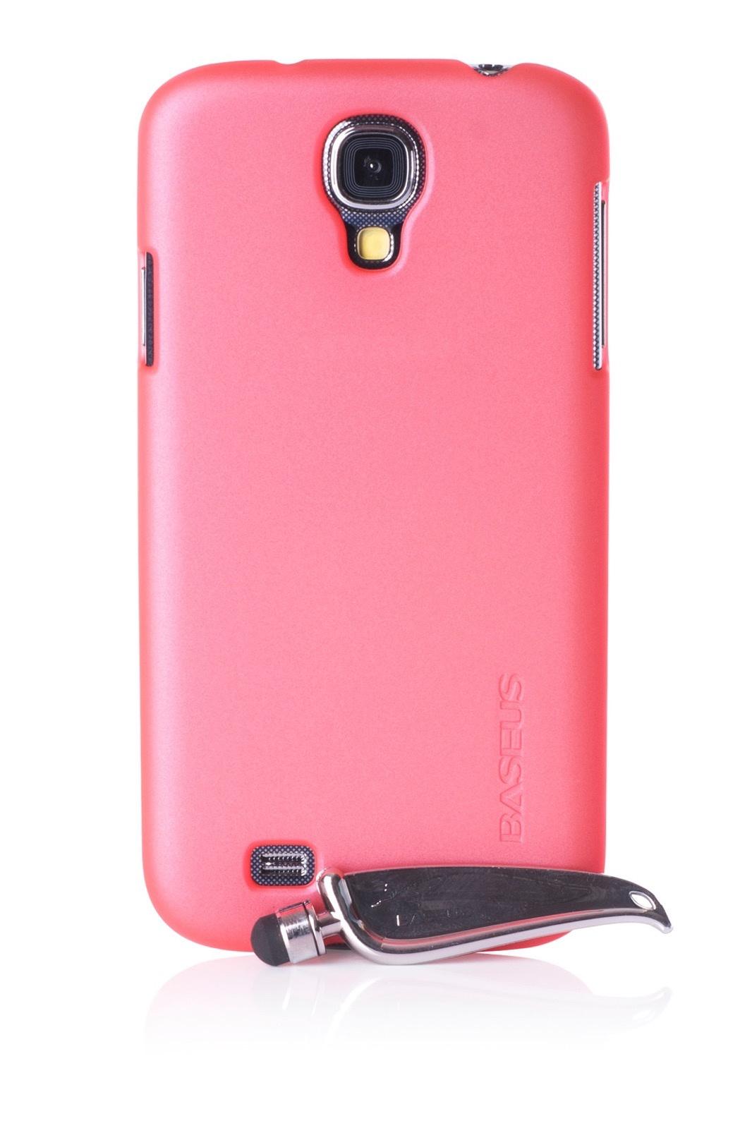 Чехол для сотового телефона Baseus накладка 450014 для Samsung S4, розовый