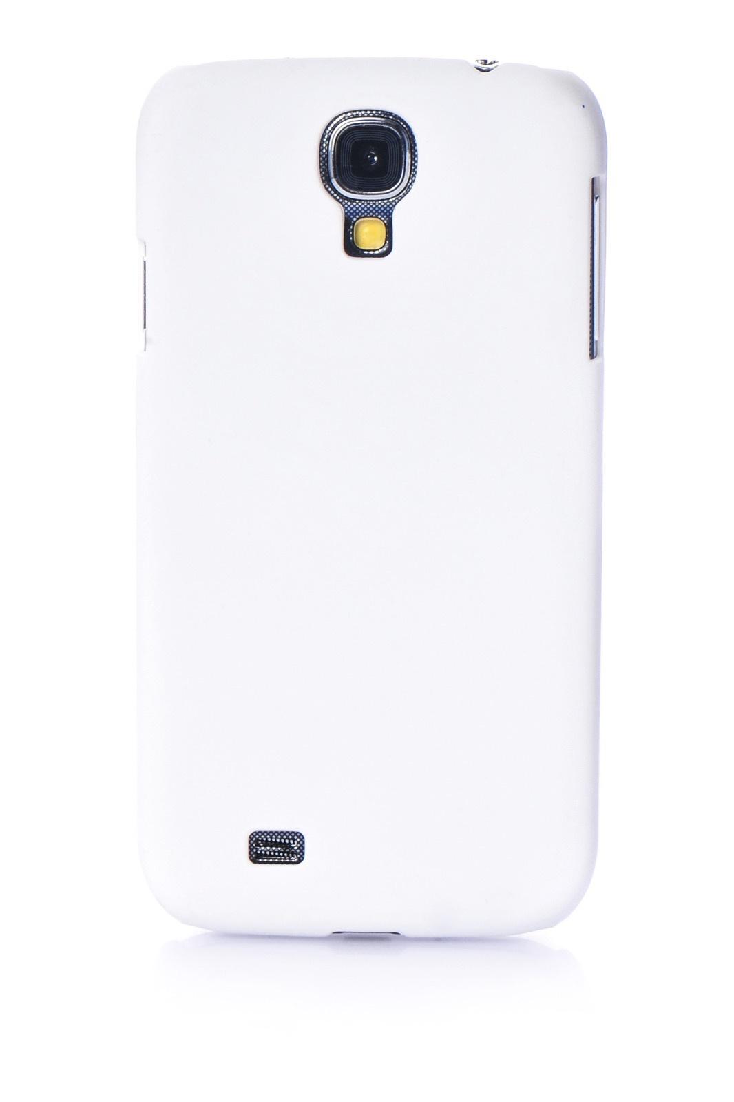 Чехол для сотового телефона Gurdini накладка пластик Soft touch 450087 для Samsung S4, белый