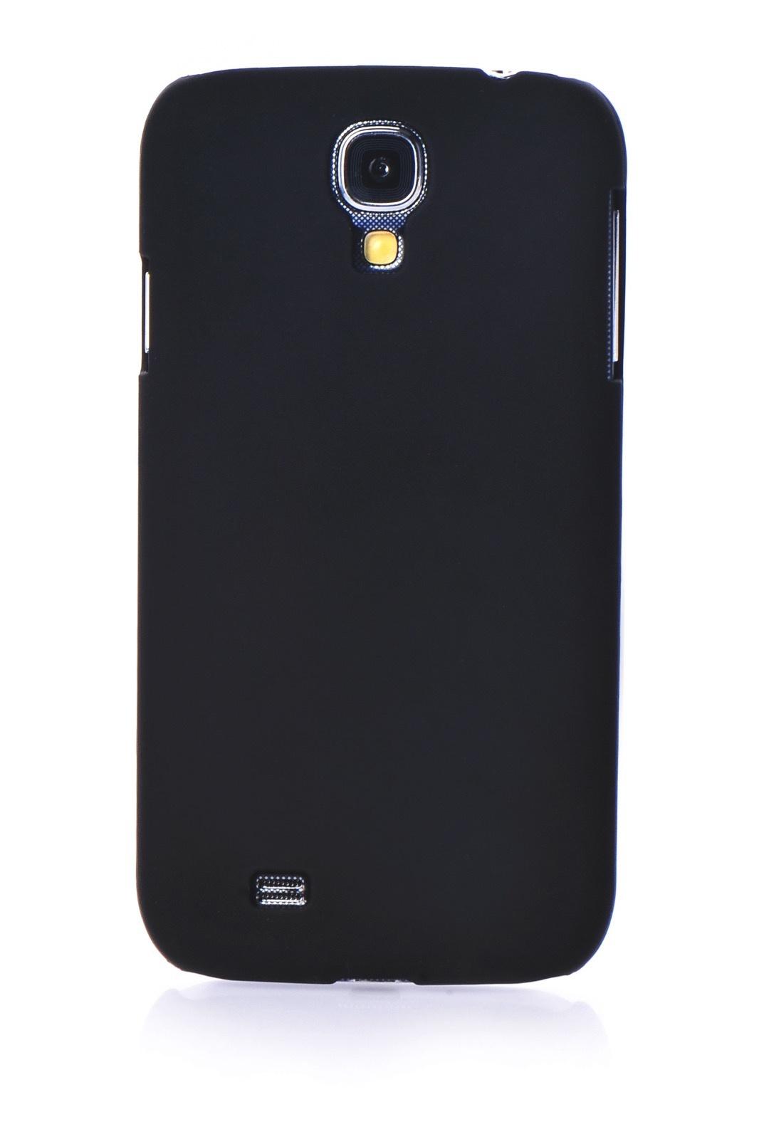 Чехол для сотового телефона Gurdini накладка пластик Soft touch 450088 для Samsung S4, черный