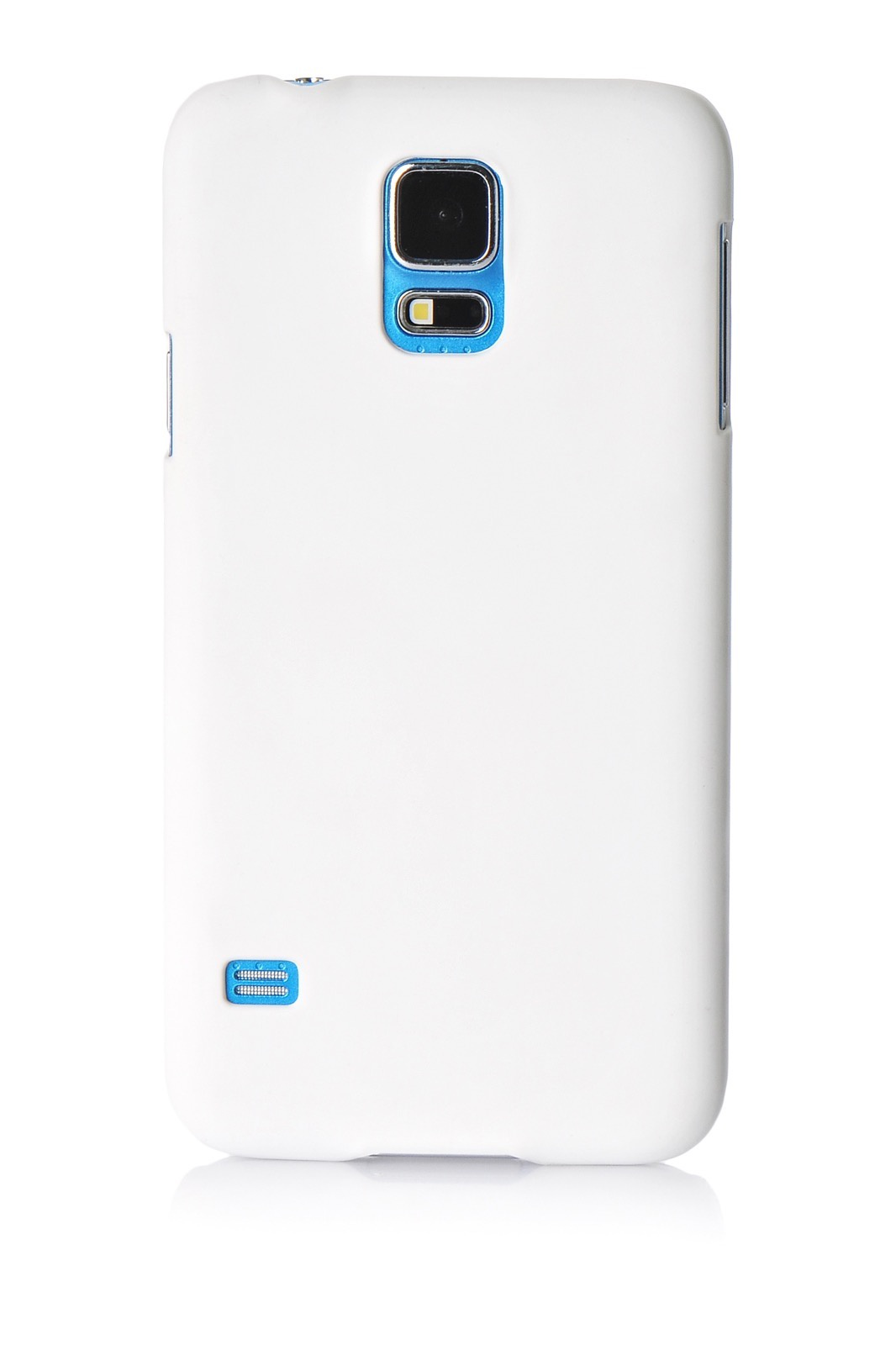 Чехол для сотового телефона Gurdini накладка пластик Soft touch 570011 для Samsung S5 mini, белый