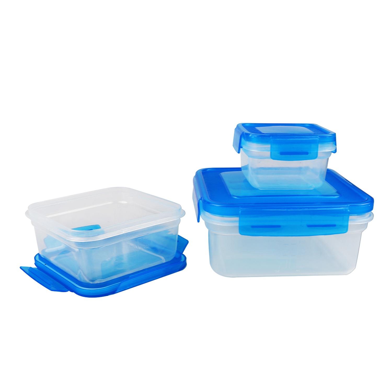 Контейнер пищевой BOHMANN 082BH/ голубой, голубой