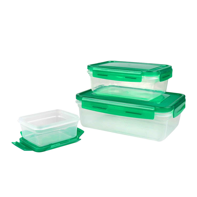 Контейнер пищевой BOHMANN 081BH/ зеленый, зеленый