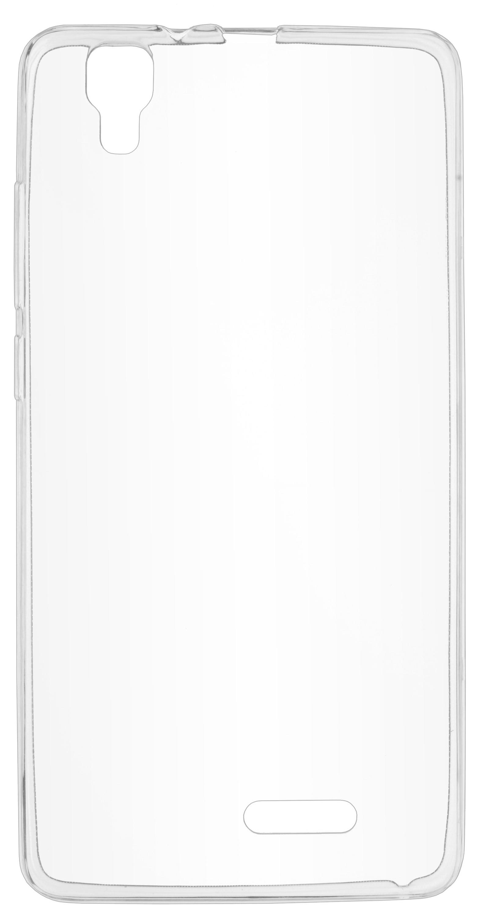 Чехол для сотового телефона skinBOX Slim Silicone, 4660041409475, прозрачный цены онлайн