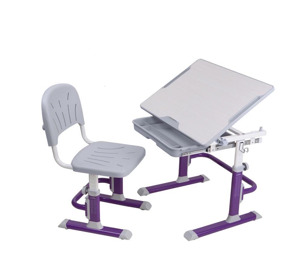 Набор детской мебели Cubby Lupin VG, фиолетовый, светло-серый