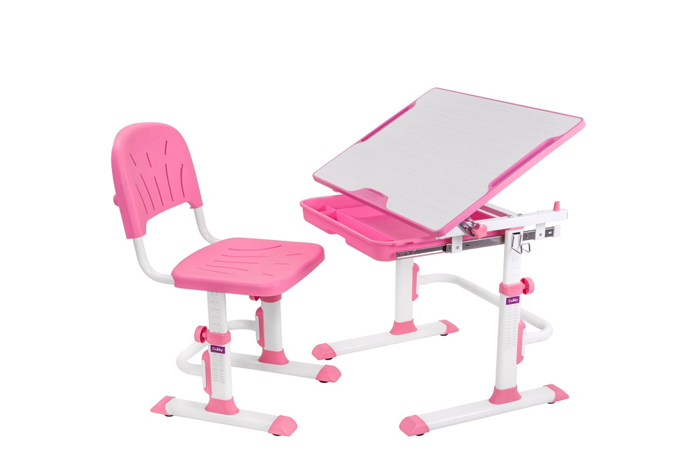 Набор детской мебели Cubby Lupin WP, 515607, розовый, светло-серый