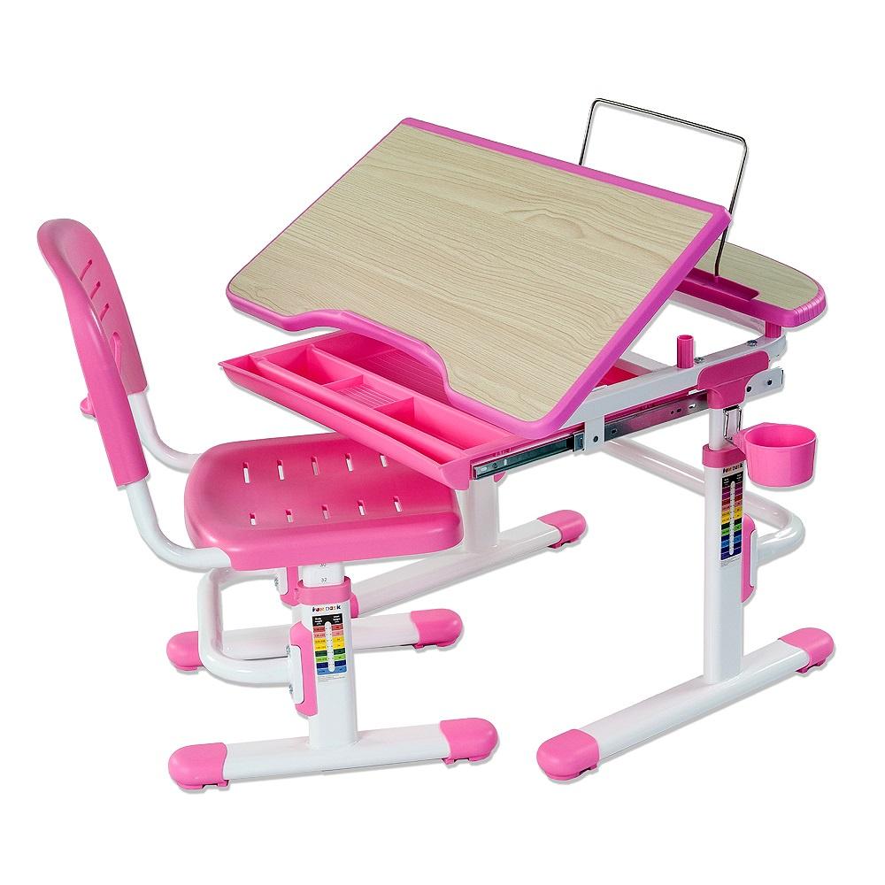Набор детской мебели FunDesk Sorriso Pink, 166151, розовый