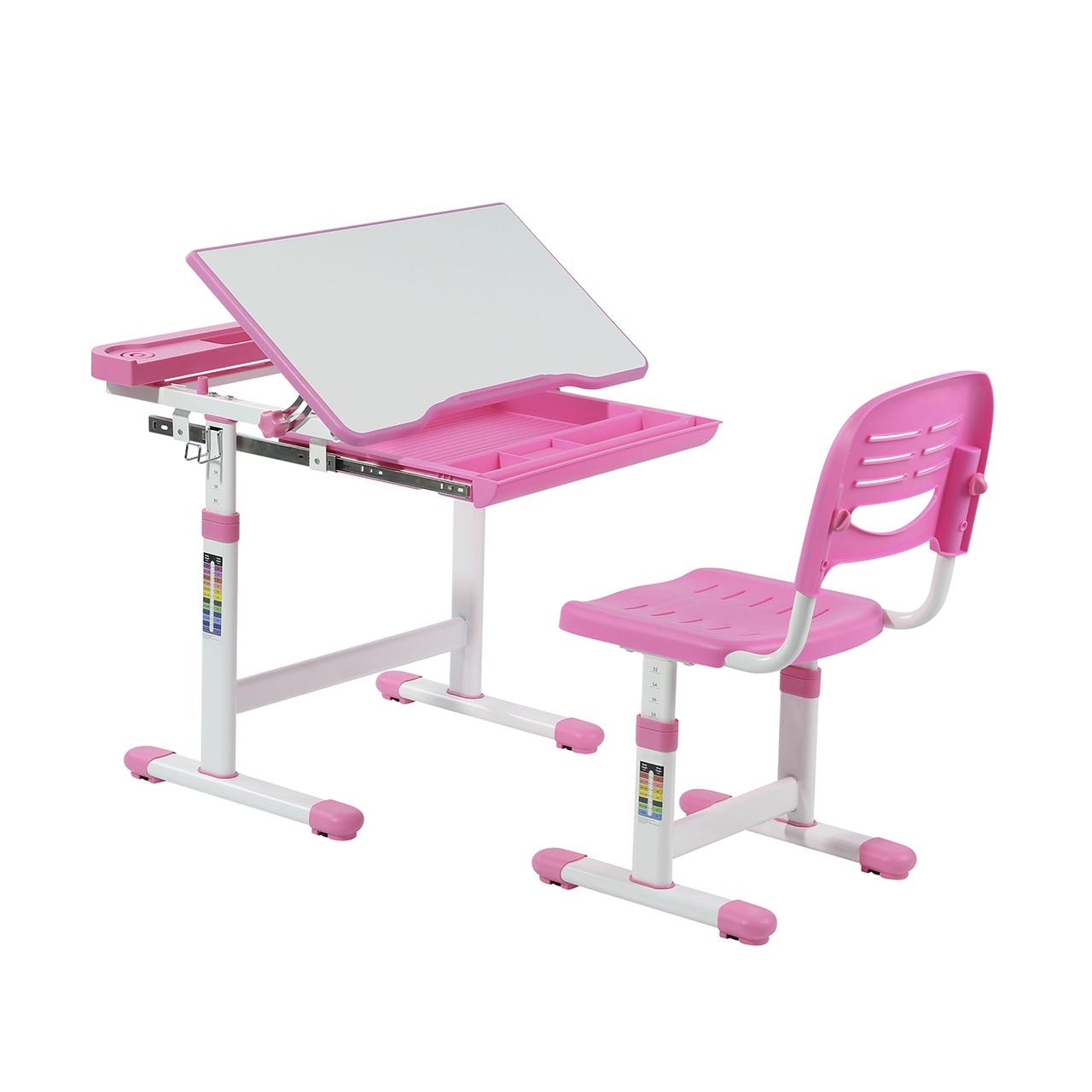 Набор детской мебели FunDesk Cantare Pink, розовый, белый