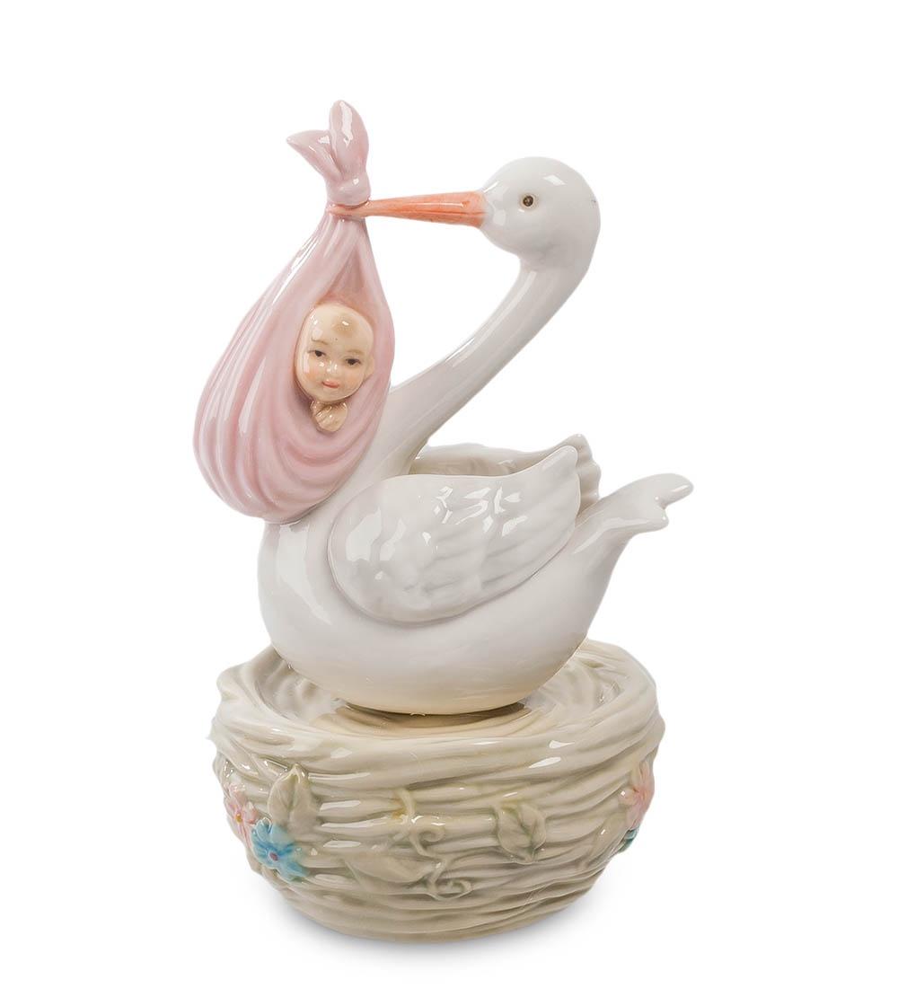 Статуэтка Pavone С Новорожденным CMS-15/ 8, 103200 для чего новорожденным дают укропную воду