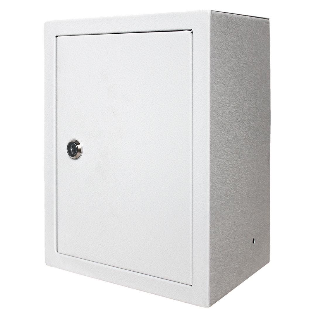 Короб установочный RUCELF Щит с монтажной панелью ЩМП-00 IP31 2,2 кг, серый щит rucelf щру 3н 25 ip31